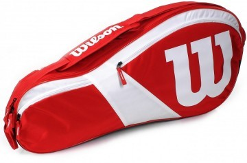 Wilson Match III 3R Bag Red / White
