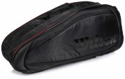 Wilson Fed Team 6Pack Black/Red