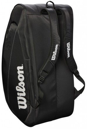 Wilson Fed Team 12 Pack 12R Bag Black / White