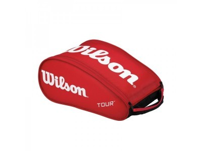 Wilson TOUR SHOE BAG Red torba do badmintona