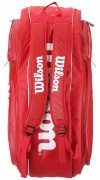 Wilson Tour V 9 Pack Red torba do badmintona