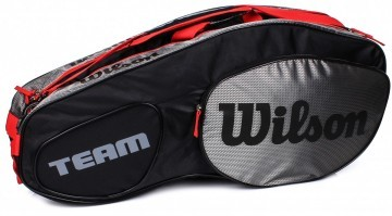 Wilson Team III 6R Bag Black / Grey