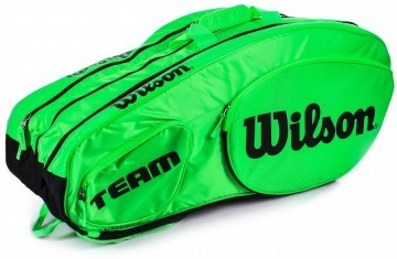 Wilson Tour Team III 12R Bag Green / Black