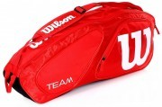Wilson Team II 3PK Bag Red <span class=lowerMust>torba do badmintona</span>