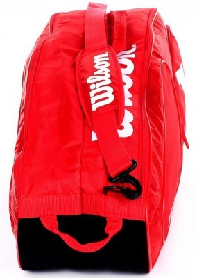 Wilson Team II 6PK Red torba do badmintona