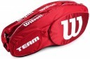 Wilson Team III 6Pack Bag Red White