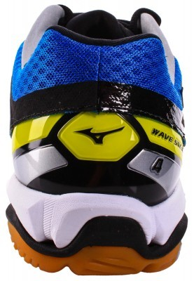 Mizuno Wave Stealth 4 Blue White buty do badmintona