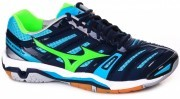 Mizuno Wave Stealth 4 Blue <span class=lowerMust>buty do badmintona</span>