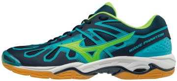 Mizuno Wave Phantom Blue Green