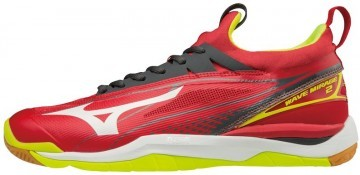 Mizuno Wave Mirage 2 Red White Yellow