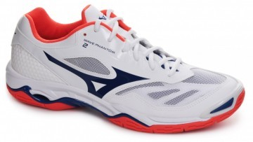 Mizuno Wave Phantom 2 White / Blue