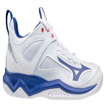 Mizuno Ghost Shadow White / Reflex Blue