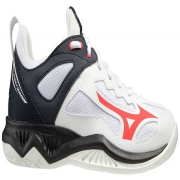 Mizuno Ghost Shadow White / Ignition Red/ Salute