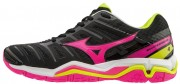 Mizuno Wave Stealth 4 Black Pink buty do badmintona damskie