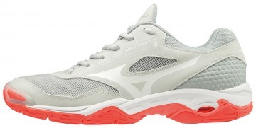 Mizuno Wave Phantom 2 Glacier Gray / Fiery Coral