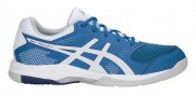 Asics Gel-Rocket 8 Race Blue / White buty do badmintona