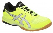 Asics Gel-Rocket 8 Flash Yellow Silver buty do badmintona