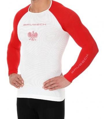 f2d61fe822ee9b Brubeck Koszulka Inspiration Lazur - Ubrania damskie