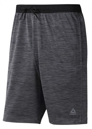 Reebok WorkOut Knit Short Dark Grey Heater
