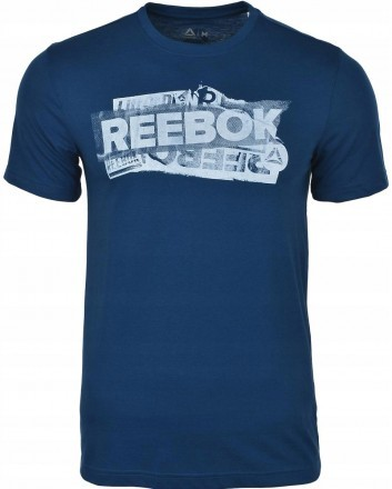 Reebok Gs Reebok Decal Tee Bunker Blue