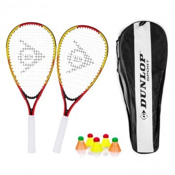 Dunlop Zestaw Speed Badminton Racketball Speedminton Set