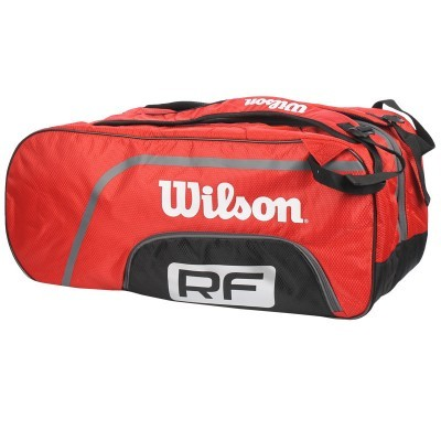 Wilson Federer Team 12pk Red torba do badmintona
