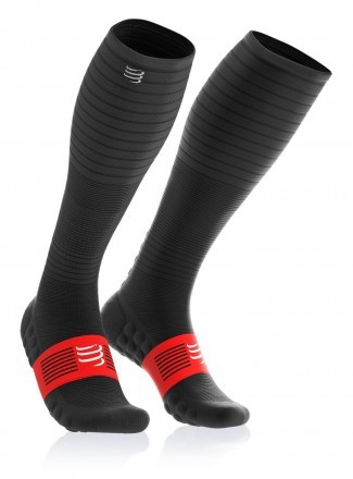Compressport Full Socks Oxygen Black