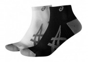 Asics Lightweight Sock White 2 Pack