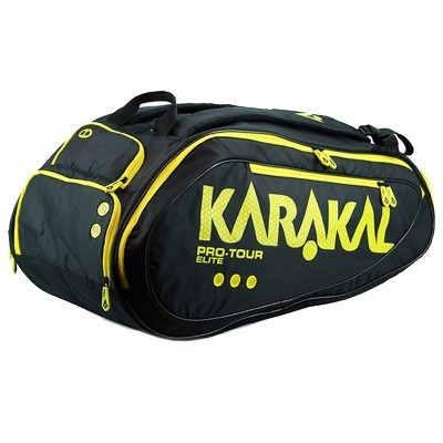 Karakal Pro Tour Elite 2016 Yellow torba do badmintona