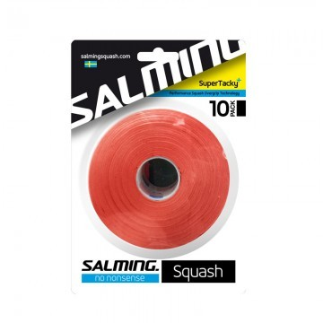 Salming Squash SuperTacky OverGrip 10 Pack