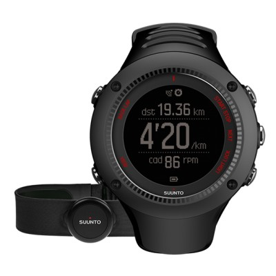 Suunto Ambit3 Run Black + HR pas do mierzenia tętna