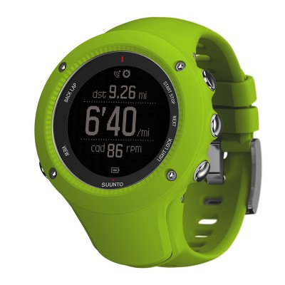 Suunto Ambit3 Run Lime+ HR pas do mierzenia tętna