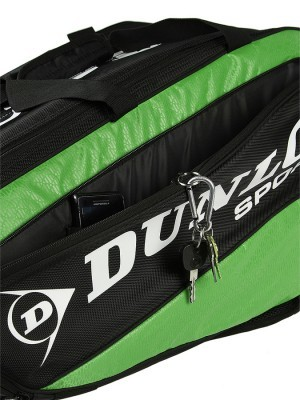 Dunlop Biomimetic Tour 10RKT Zielona torba do badmintona