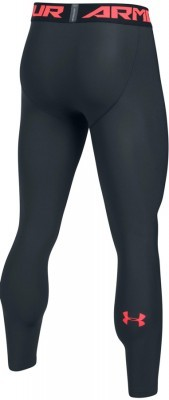 Under Armour HeatGear Armour 2.0 Leggin Black Red