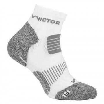 Victor Ripple Indoor Socks 1P White / Gray